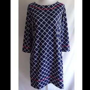 Lands End nautical rope dress/ cover up.